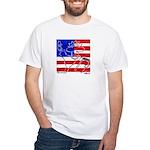 Liberty Cow White T-Shirt