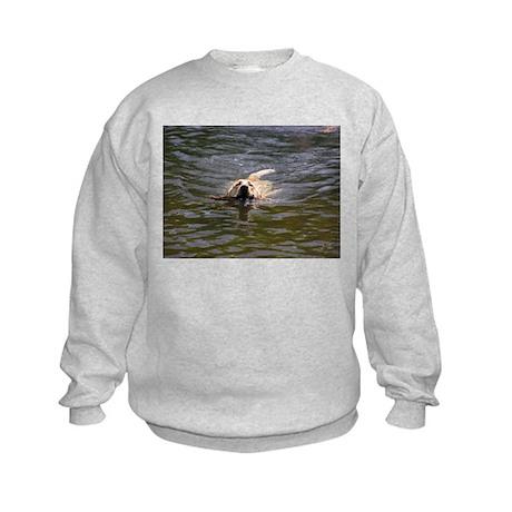 Water Retrieve Kids Sweatshirt