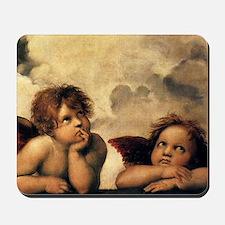 Angels by Rapahel, Vintage Renaissance Art Mousepa