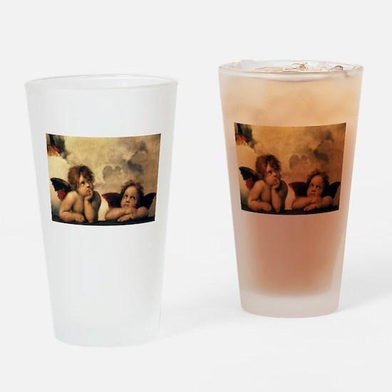 Angels by Rapahel, Vintage Renaissance Art Drinkin