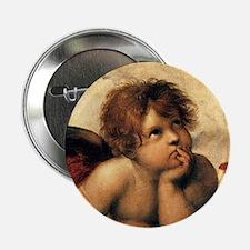 "Angels by Rapahel, Vintage Renaissance Art 2.25"" B"