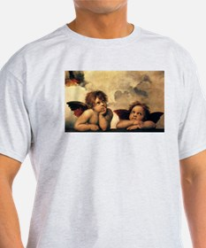 Angels by Rapahel, Vintage Renaissance Art T-Shirt