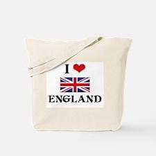 I HEART ENGLAND FLAG Tote Bag