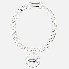 Fish Symbol John 3:16 Bracelet
