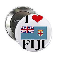 "I HEART FIJI FLAG 2.25"" Button"