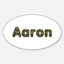 Aaron Army Oval Decal
