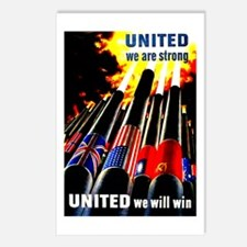 United We Will Win Postcards (Package of 8)