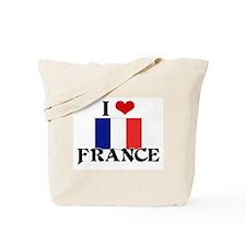 I HEART FRANCE FLAG Tote Bag