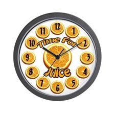 Juice Wall Clock