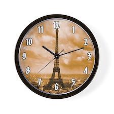 1889 Eiffel Tower Wall Clock