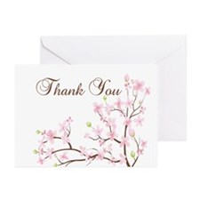 Cherry Blossoms Greeting Cards (Pk of 10)