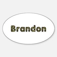 Brandon Army Oval Decal