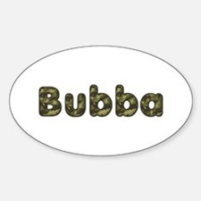 Bubba Army Oval Decal