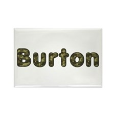Burton Army Rectangle Magnet