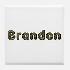 Brandon Army Tile Coaster
