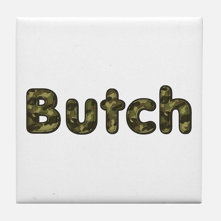 Butch Army Tile Coaster