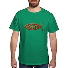 Wood Ichthys T-Shirt