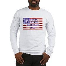 Military Dad Long Sleeve T-Shirt