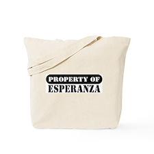 Property of Esperanza Tote Bag