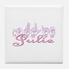 Julie Tile Coaster