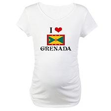 I HEART GRENADA FLAG Shirt