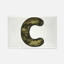 C Army Rectangle Magnet