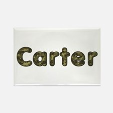 Carter Army Rectangle Magnet