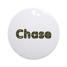 Chase Army Round Ornament