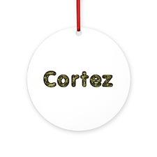 Cortez Army Round Ornament