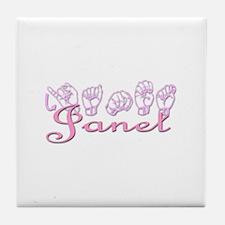 Janet Tile Coaster
