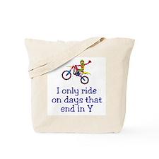 MotoChick Days Tote Bag