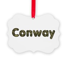 Conway Army Picture Ornament