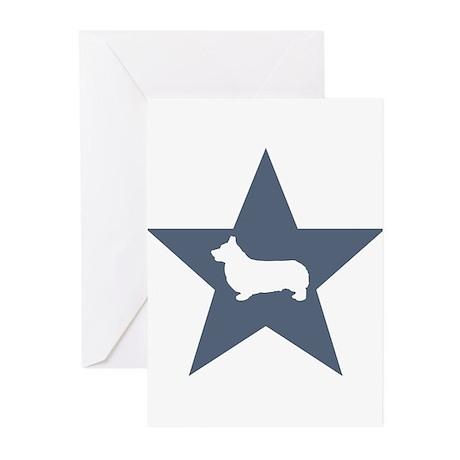 Corgi Star Greeting Cards (Pk of 10)