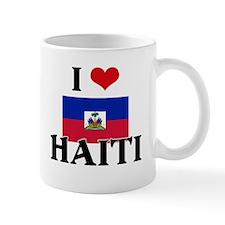 I HEART HAITI FLAG Mug