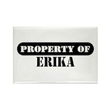 Property of Erika Rectangle Magnet
