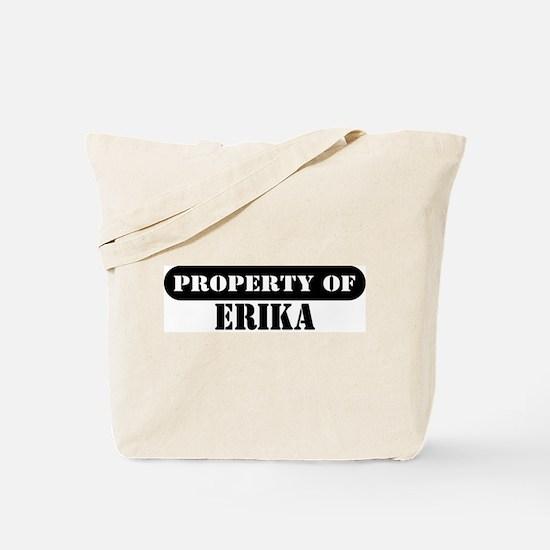 Property of Erika Tote Bag