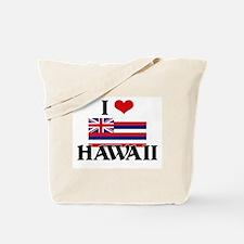 I HEART HAWAII FLAG Tote Bag