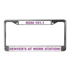 Funny Storefronts License Plate Frame