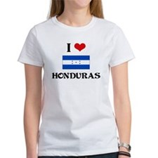 I HEART HONDURAS FLAG T-Shirt
