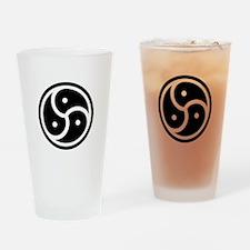 BDSM Symbol Drinking Glass