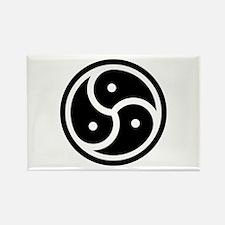 BDSM Symbol Rectangle Magnet