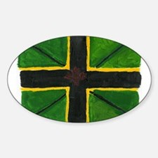 blackbritain Oval Decal