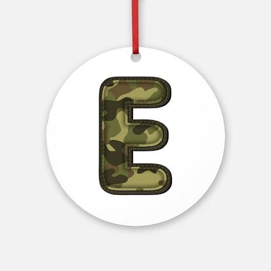 E Army Round Ornament