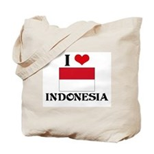 I HEART INDONESIA FLAG Tote Bag