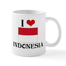 I HEART INDONESIA FLAG Mug