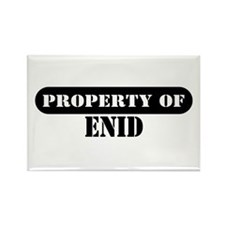 Property of Enid Rectangle Magnet