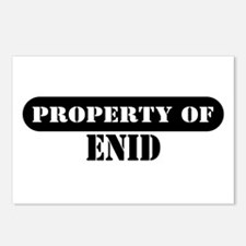 Property of Enid Postcards (Package of 8)