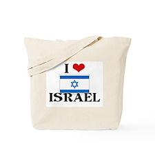 I HEART ISRAEL FLAG Tote Bag