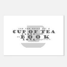 There isn't a cup of tea Postcards (Package of 8)