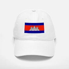 Cambodia Blank Flag Baseball Baseball Cap